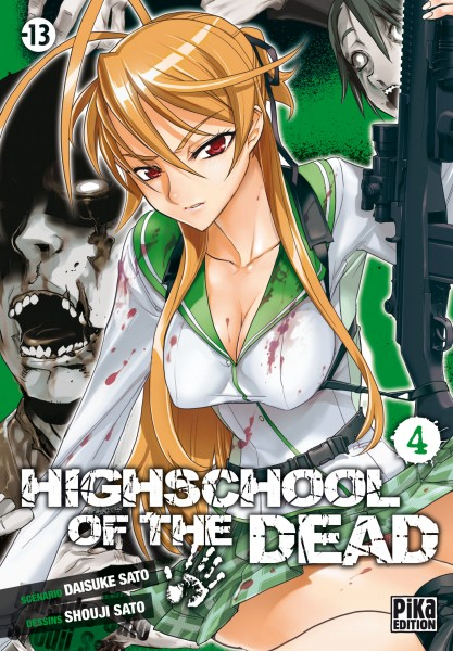 HIGHSCHOOL OF THE DEAD - Volume 4