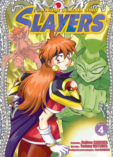 Slayers: Suiriyuuou no Kishi - Vol. 4