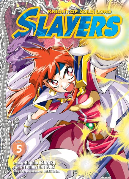 Slayers: Suiriyuuou no Kishi - Vol. 5